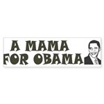 A Mama for Obama Sticker (Bumper 10 pk)