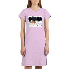Nothin' Butt Schipperkes Women's Pink Nightshirt