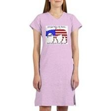 Let God have the Reins Women's Nightshirt