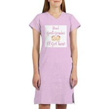 Proud Great Grandma Girls Women's Nightshirt