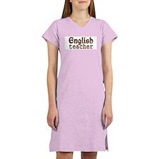 English Teacher Women's Nightshirt