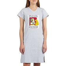 Yeller Chains Women's Nightshirt