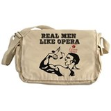 I love Opera Messenger Bag