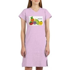 Garden Veggie Friends Women's Nightshirt