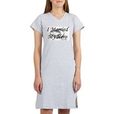 I Married My Hero, ARMY WIFE Women's Nightshirt