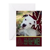 StubbyDog Present Greeting Cards (Pk of 10)