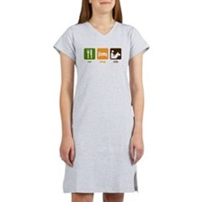 Horseback Riding Women's Nightshirt