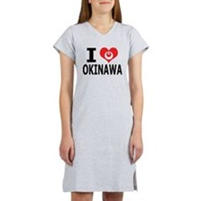 Cute Okinawa Women's Nightshirt
