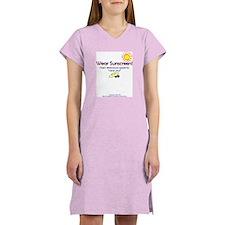 Wear Sunscreen Women's Nightshirt