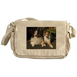 Unique Sheltie shop Messenger Bag