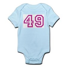 Number 49 Infant Creeper