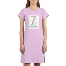 Christmas Dolphin Women's Nightshirt