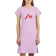 submissive symbol Women's Nightshirt