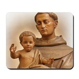 Cute Saint anthony Mousepad