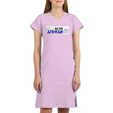 Proud Aunt of an Airman Women's Nightshirt