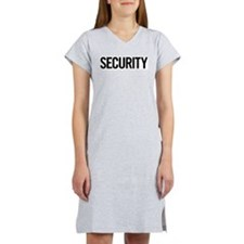 Security Women's Pink Nightshirt