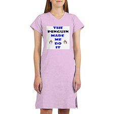 Blame the Penguin Women's Nightshirt