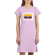 Proud Equadorian Grandma Women's Nightshirt