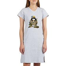 Miner Penguin Women's Nightshirt