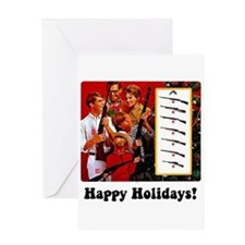 Gun Show Holiday Greeting Card
