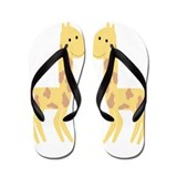 Giraffe Design Flip Flops