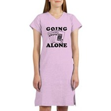 Euchre Going Alone/Loner Women's Nightshirt