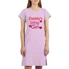 Funny Daddys little girl Women's Nightshirt