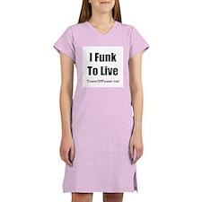 2-message: Women's Nightshirt