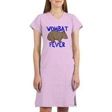 Wombat Fever II Women's Nightshirt
