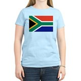 Flag of South Africa Women's Pink T-Shirt