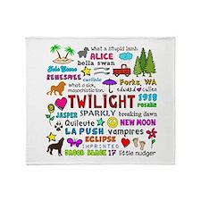 Twilight V3 Throw Blanket