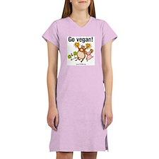 Go Vegan! Cheer Women's Nightshirt