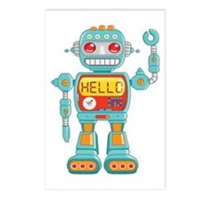 Hello Robot Postcards (Package of 8)