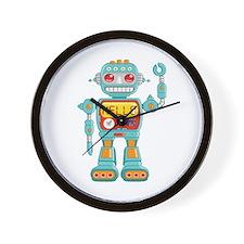 Hello Robot Wall Clock