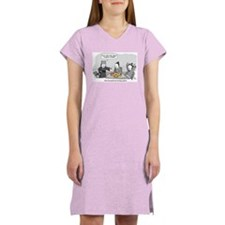 Sun Tzu's Art of Hungry Hippos Women's Nightshirt