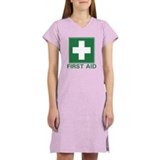 First Aid Women's Nightshirt
