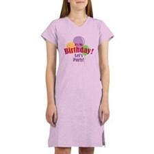 Happy Birthday Balloons Women's Nightshirt