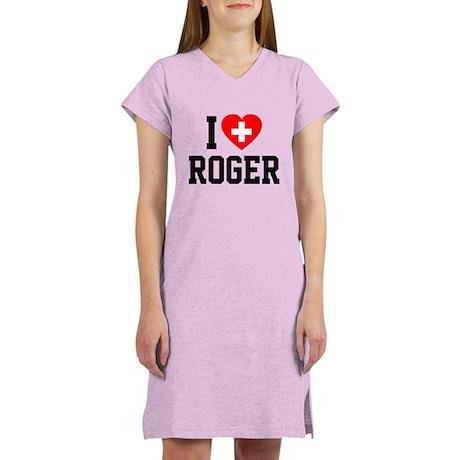 I Love Roger Women's Light Pajamas