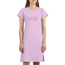 {soft skin} pink Women's Nightshirt