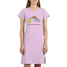 Funny Taste the rainbow Women's Nightshirt