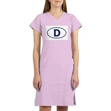 """D"" Euros Women's Nightshirt"