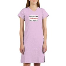 Olbermann Fan Women's Nightshirt