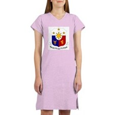 Philippine Coat of Arms Women's Nightshirt