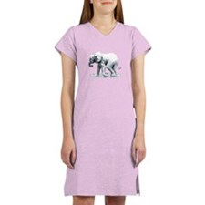 Baby Elephant Women's Nightshirt