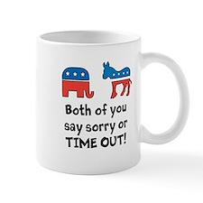 Bipartisan time out! Mug