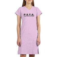P.E.T.A.- People Eating Tasty Animals. Women's Lig