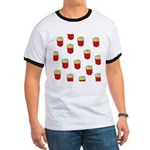 French Fries Dots Ringer T