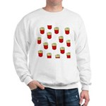French Fries Dots Sweatshirt