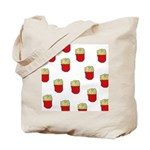 French Fries Dots Tote Bag