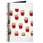 French Fries Dots Journal